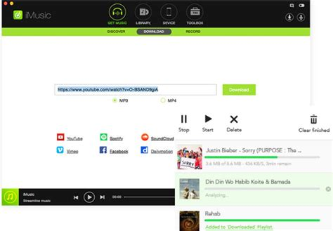 Music Downloader, Recorder And Transfer Software