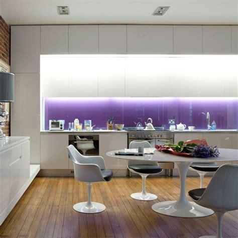 modern purple kitchen kitchen design idea housetohome