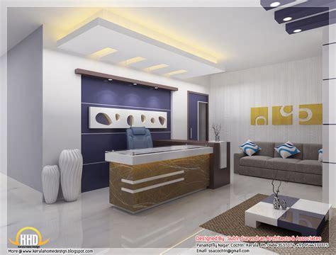 bureau interiors beautiful 3d interior office designs kerala home design
