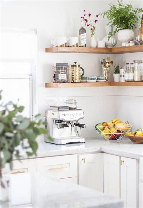 inspiration  styling open kitchen shelves tile mountain