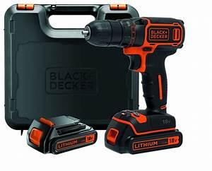 Visseuse Black Et Decker 18v : batterie pour perceuse black et decker 18v ~ Dailycaller-alerts.com Idées de Décoration
