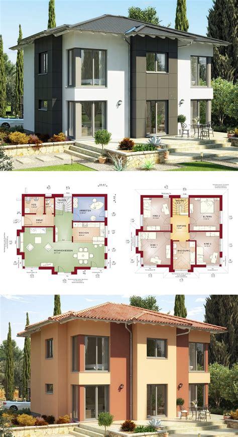 Moderne Offene Häuser by Moderne Stadtvilla Mit Walmdach Haus Evolution 165 V3