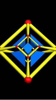 Four Views of a Tesseract, Rotating in Hyperspace ...