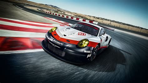 2017 Porsche 911 Rsr Racer Adopts Mid-engined Layout