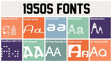 pics for gt 1950s fonts gift wrap ideas i love pinterest fonts