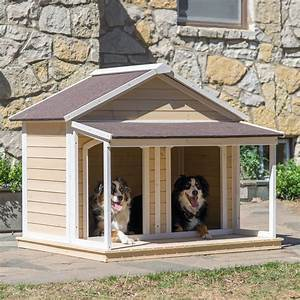 large double dog house plans home deco plans With how to build a big dog house