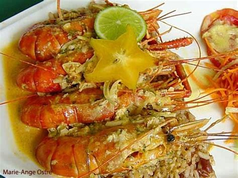 creole lobster antilles guadeloupe food for thought