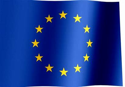 Europe Flag European Eu Waving Union Flags