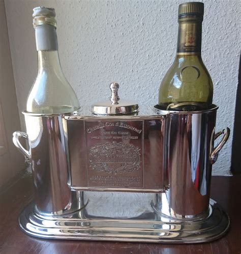 fan with ice compartment wine cooler for two bottles with ice compartment 20th