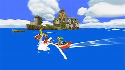 Wind Waker Zelda Legend Link Wallpapers Games
