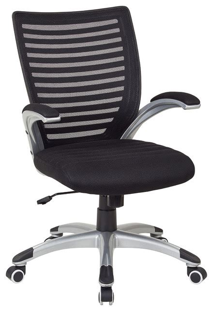 work smart mesh seat and screen back managers chair black