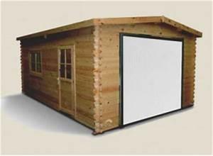 Garage Le Moins Cher : garage bois en kit une construction d 39 un montage simple pas cher promo ~ Medecine-chirurgie-esthetiques.com Avis de Voitures