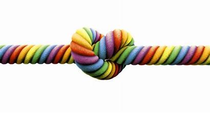 Marriage Knot Rope Tie Gay Tied Rainbow