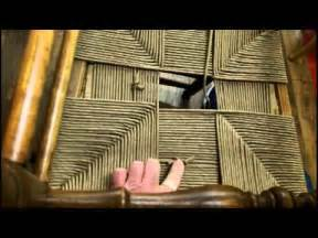 how to weave a seat in a rush chair youtube