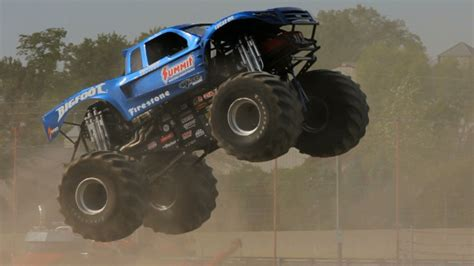 monster truck bigfoot video bigfoot the original monster truck the downshift