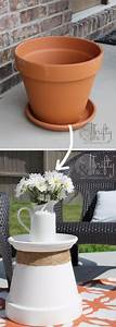 40, Awesome, Diy, Side, Table, Ideas, For, Outdoors, And, Indoors