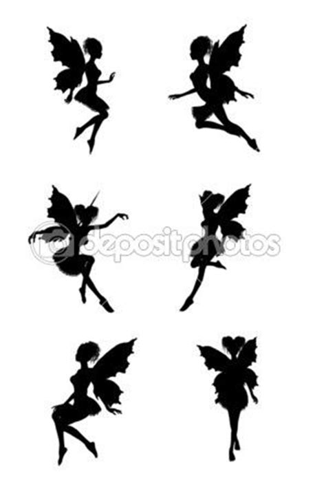 Fairy silhouettes — Stock Image #2692428   Fairy