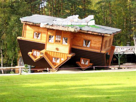 An 'upside-down House' In Open-air Museum, Szybmark