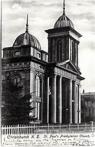 St. Paul's Presbyterian Church, Christchurch : [1905 ...