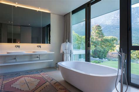 Modern Bathroom Mirrors South Africa by This House In South Africa Has Views Of A World Heritage