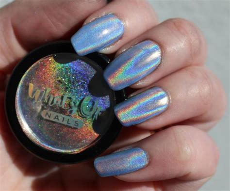 What's Up Nails Multi-chrome Och Holographic Nail Powder
