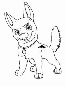 Free disney dog coloring pages