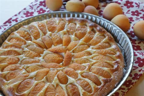 tarte brioch 233 e aux abricots fourchett es