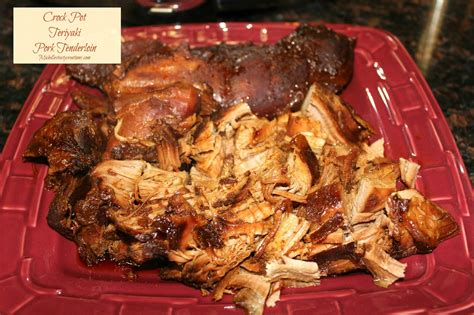crock pot pork loin michelle s tasty creations crock pot teriyaki pork tenderloin