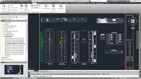 Panel Layout Autocad Electrical Autodesk Youtube
