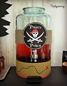 Deco Anniversaire Pirate : 25 best ideas about pirate drinks on pinterest pirate punch pirate party and pirate party games ~ Melissatoandfro.com Idées de Décoration