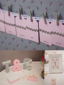 Deco Table Rose Et Gris : d coration mariage rose et gris photos freddy fr mont 1 ~ Melissatoandfro.com Idées de Décoration