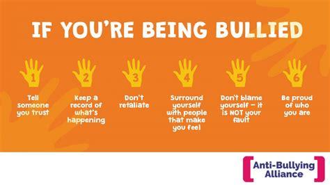 I Am Being Bullied  Antibullying Alliance