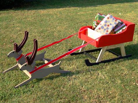 plans  outdoor tv cabinet     santa sleigh