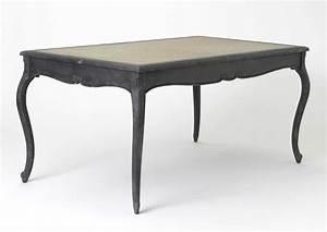 Table Plateau Bois : table manger noire avec plateau bois ~ Teatrodelosmanantiales.com Idées de Décoration