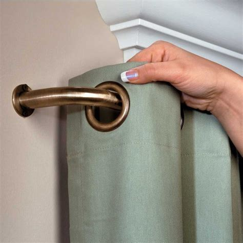 Blockaide Curtain Rod by 54 Best Images About Curtains On Curtain Rods