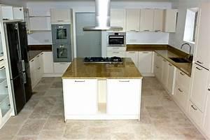 Plan De Travail Ilot : plan de travail ilot central cuisine table de cuisine ~ Premium-room.com Idées de Décoration