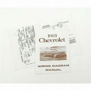 Full Size Chevy Wiring Harness Diagram Manual  1963 40