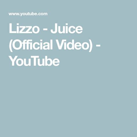 Lizzo juice music video feat rupaul s drag race queens.mp3. Lizzo - Juice (Official Video) - YouTube