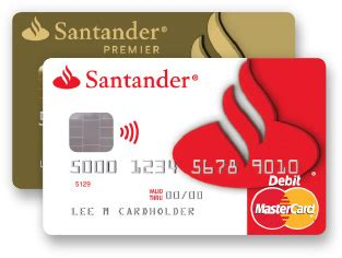 Santander Visa Karte