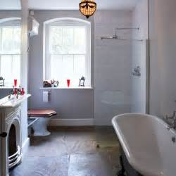slate bathroom ideas choose luxe slate get designer bathroom style for less housetohome co uk