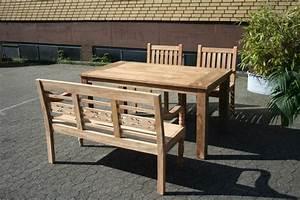 Gartenbank Holz Mit Tisch : gartenmobel holz tisch und bank ~ Bigdaddyawards.com Haus und Dekorationen