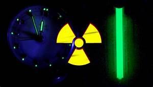 radioluminescence / scintillations from H-3 (Tritium) vs ...