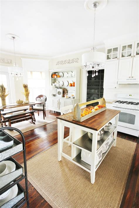 Fall Decorating Ideas For Kitchen by Fall Kitchen Decorating Ideas And A