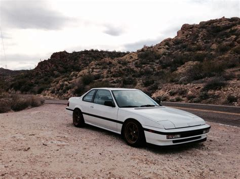 stanced 91 honda prelude si with bronze wheels my cars