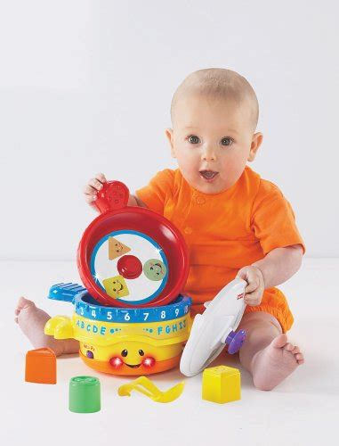 pot bebe fisher price fisher price laugh learn pots pans educational review compare prices buy