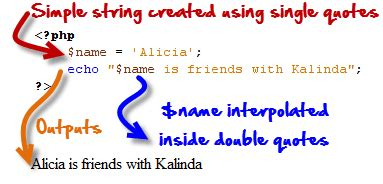 php add quotes in string