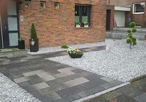 Einfahrt Mit Kies : neuanlegung eines vorgartens mit einfahrt ~ Markanthonyermac.com Haus und Dekorationen