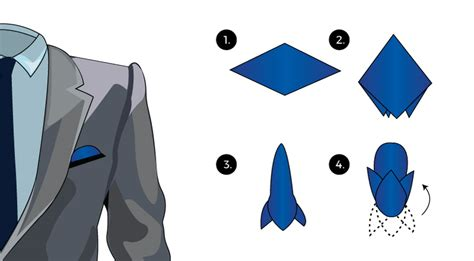 green mens how to fold a pocket squares tie a tie