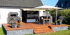 Erhöhte Terrasse Bauen : awesome erh hte terrasse bauen contemporary ~ Orissabook.com Haus und Dekorationen