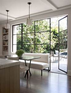 Window treatments for sliding glass doors in kitchen for Sliding glass doors windows